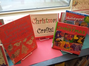 Christmas Crafts Display