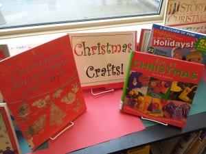 Christmas Crafts Display