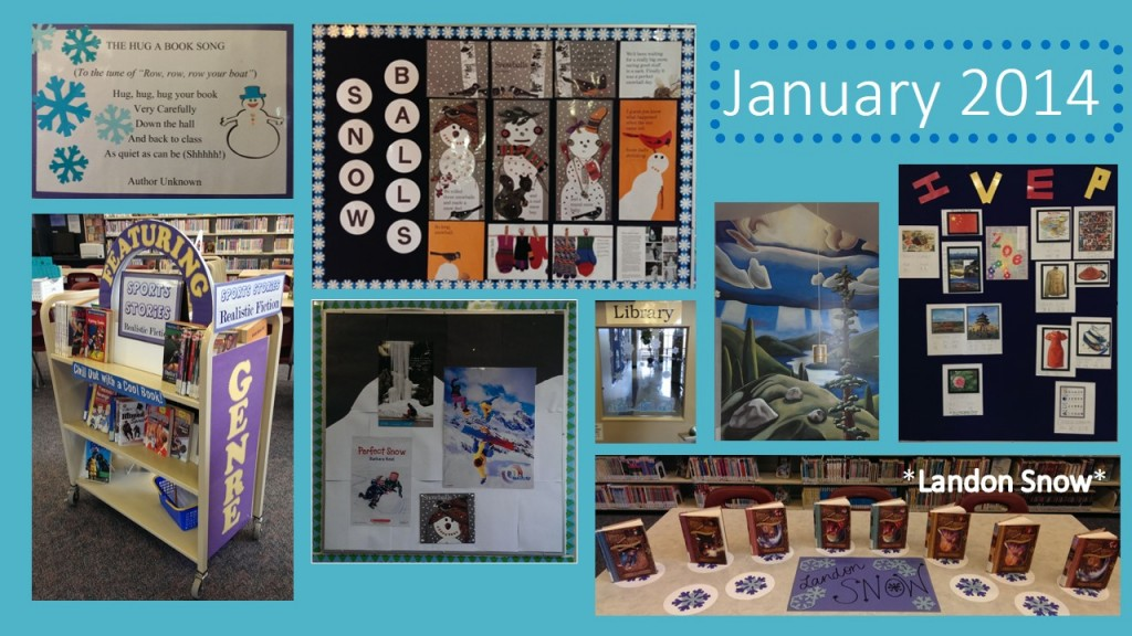 january 2014 library collage