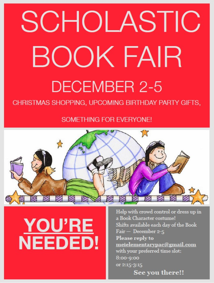 Scholastic Book Fair 2014