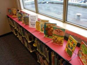 Picnic books display