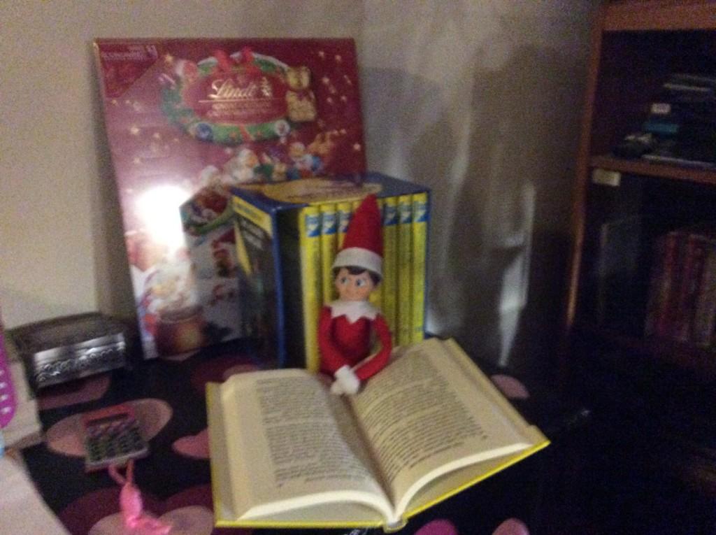 Jolene Elmore Elf on the shelf 2 Dec 2015